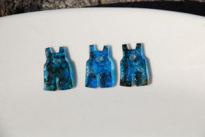 Shrinky Dinks - Overall Charms by No-Avail