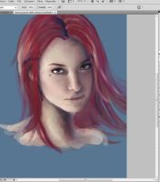 Work in progress - Aurora by ynne-black