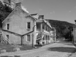 Harpers Ferry Street by MorganCG