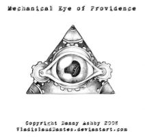 Mechanical Eye of Providence by VynetteDantes