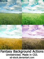 Fantasy Background Actions by sd-stock