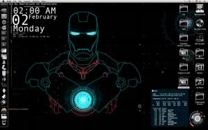 Stark Style Desktop by Geek-Chic