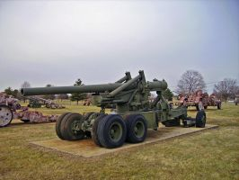 "US M1 155mm ""Long Tom"" Gun by DarkWizard83"