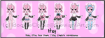 {Character Sheet} Itsy by IdoodleChibis