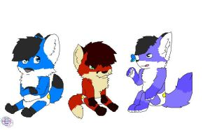 kaiser and zoey's kids c: by King-Akuma