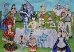 Fairy Tail's Mad Hatter Tea Party by Dragon-flame13