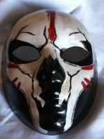 Tribal Skull Mask by thewickedrobot
