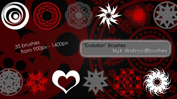 'Evolution' Brushes by AndroidBrushes