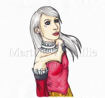Blanche by MartineLand