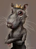 Rat king by ajinak