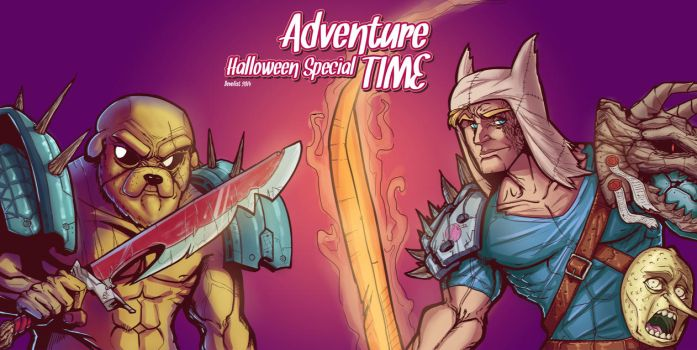 Adventure Time Halloween Special by Devolist