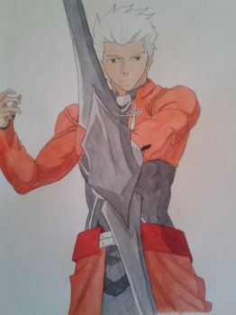 Archer - Fate/Stay Night: Unlimited Blades Works by Eric-Nero