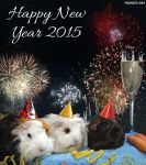 Happy New Year Greetings from Party Pigs to you! by Higarts