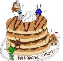 Happy Pancake Tuesday! by IllyDragonfly