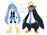 [request] Crystal and Empoleon by chosaguro