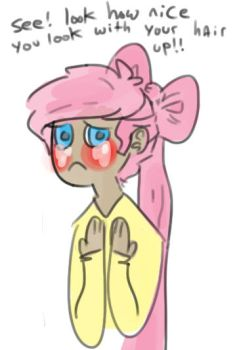 poor fluttershy by Floral-print-boots