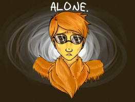 ALONE. by SunoWolf