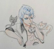 Good morning Grimmjow by Anime-Cat6