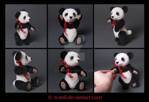 FOR SALE Teddy: Meili the Panda by Avanii