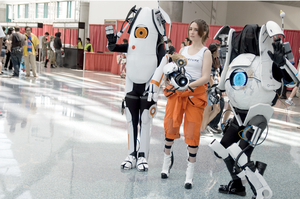 Portal 2 Cosplay by SavedChicken