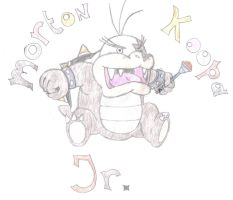morton koopa jr. hand-drawn by aaronio999