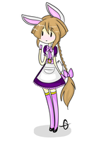Lavender the Rabbit by Ask-Shylo