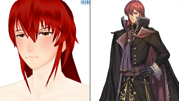 [FE:SD MMD WIP] Michalis? by Nintendraw