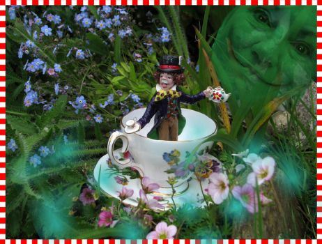 Mad Hatter, A Cuppa? by Ravensbreath