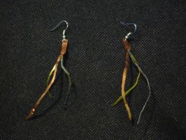 Hammered Wire Earrings by Impure-Escape