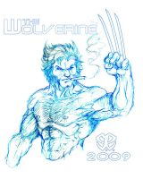 The Wolverine in Repose by Revelationchapter9