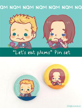 [AD] Let's eat plums by semokan