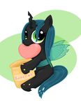 Princess Chrysalis by Poppun