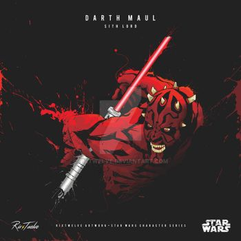 Darth Maul by RixTwelve