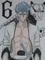 Grimmjow and Adjuchas by Wolfofshiver