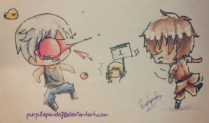{APH Bad Touch Trio} Get whooped by Spain by Paluumin