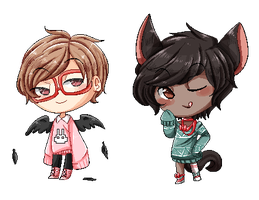 Pixel bbys by PastelBits