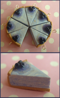 blueberry cheesecake charms by citruscouture