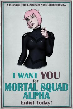 Mortal Squad Alpha - I WANT YOU by PantySmarts