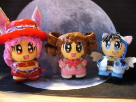 Full Moon Wo Sagashite chibis by Muku-charms