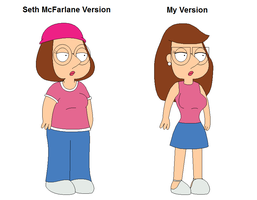 Meg Griffin: Before and After by Gamekirby