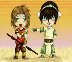 Avatar: Bandits and Nomads by sazzykins
