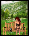 Me and My Liddle Man: The Park by cryptic-sacrifice