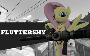 Pony Fortress 2 - Fluttershy by TBWinger92