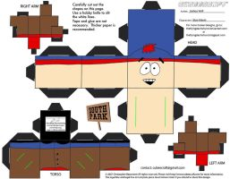 SP1: Stan Marsh Cubee by TheFlyingDachshund