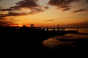 sundown by caudara