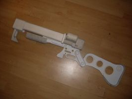 WIP AER9 laser rifle by chanced1