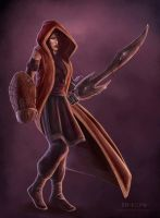 My last of The Crimson Cloak by pinkhavok
