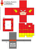 Paper Pezzy- The Flash by CyberDrone