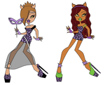 Contest - CeCe Wolf (Me) and Clawdeen Wolf by CeCeWolf