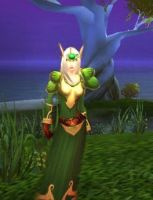 Blood elf druid by riotfury